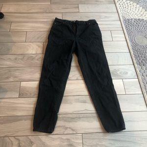 Vintage bonjour black jeans size 14